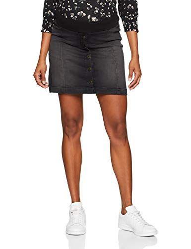 c0700a420d2f5 ESPRIT Maternity Women's Denim Utb Mid Skirt Blue (Black Dark Wash 940) 16  | Women's Skirts in 2019 | Skirts, Denim skirt, Mini skirts