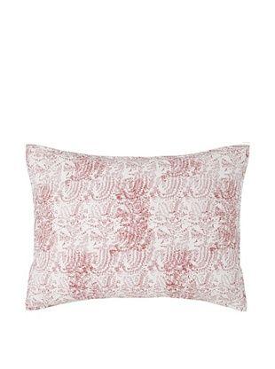 75% OFF Jaipur by Better Living Sandstorm Pillow Sham (Red)