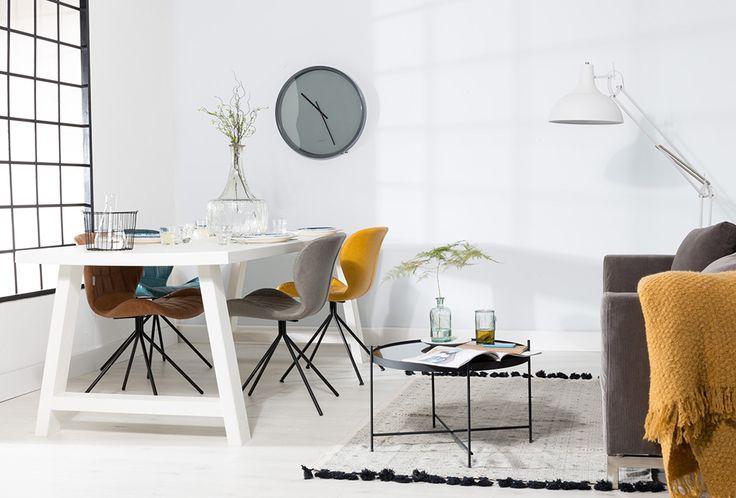 OMG stoelen, de Cupid bijzettafel en de A-framed tafel van zuiver