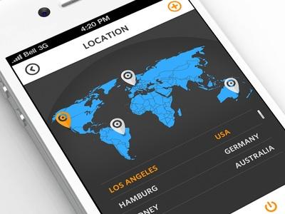 Select/Add Location Settings