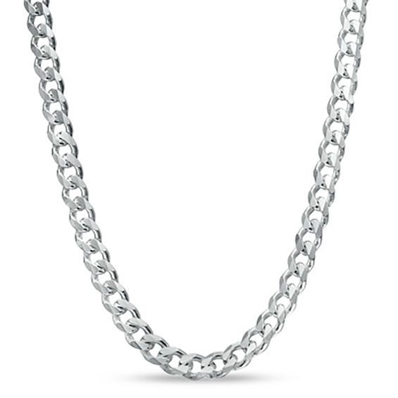 925 Sterling Silver 1mm Open Link Curb Chain Anklet