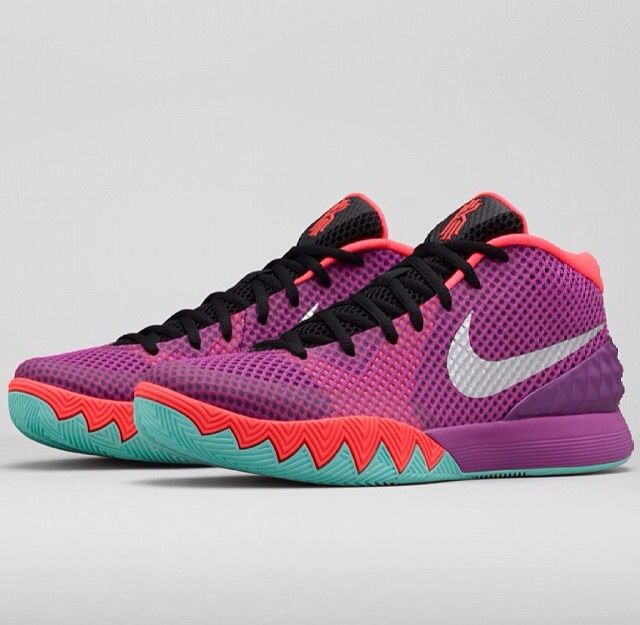 the nike kyrie 1 easter is officially revealed. find the model at select nike accounts starting april