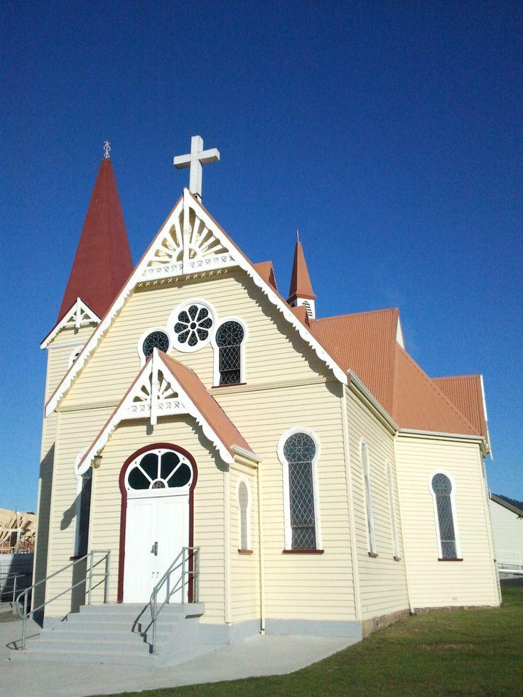 The church at Penguin, Tasmania