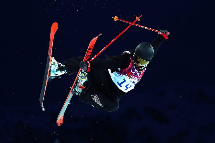 Janina Kuzma - freeski halfpipe 5th (c) Getty Images