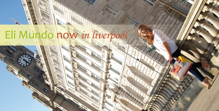 A preview of the photo shoot of today. Eli Mundo arrive to Liverpool.