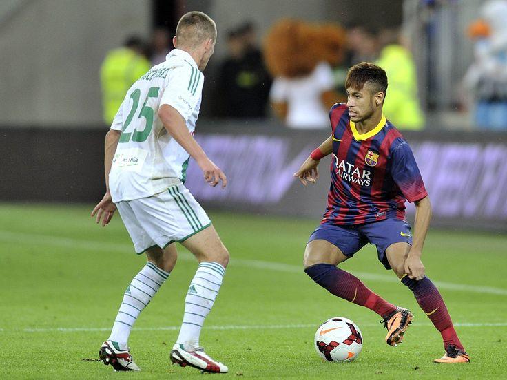 Football Skills The Best Skills & Tricks Neymar JR ● Amazing Goals ●