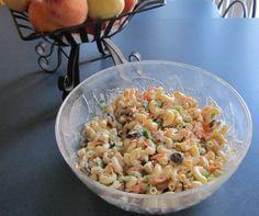 Salade de pâtes froide au thon à la grecque - Recettes du Québec