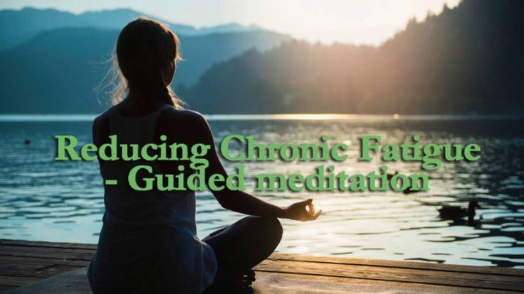 Ease Chronic Fatigue: Guided Meditation - CALM Space© Self Healing PLAY=>