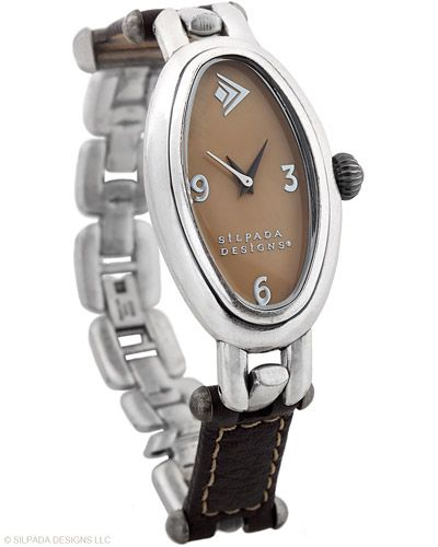 "Time flies when you're wearing this Mother-of-Pearl and Leather Watch, with Stainless Steel back plate and Fold-over Clasp. Fits up to a 7"" wrist.: Beautiful Jewelry, Leather Watches, Mothers Of Pearls, Finest Hour, Silpada Design, Justice Th Faces, Mother Of Pearls, Flying Watches, Silpada Pin"