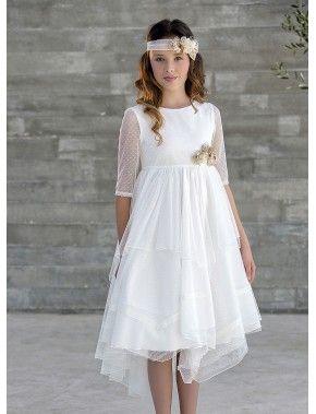 c774d9e74 FIN EXISTENCIAS Vestido de arras ceremonia fiesta de niña
