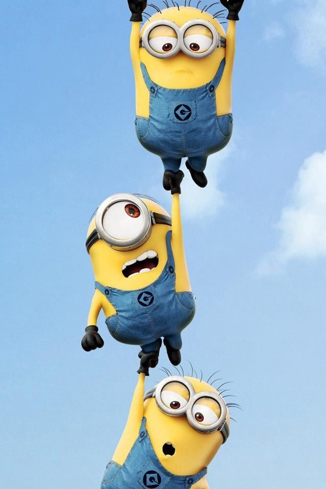 Minions wallpaper: Minions, Iphone Wallpapers, Despicable, Random ...