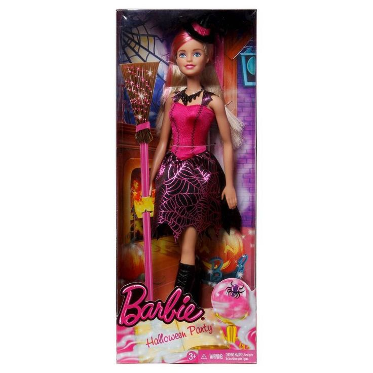 Barbie Halloween Witch Doll Halloween Party 2016 NEW #Mattel #DollswithClothingAccessories