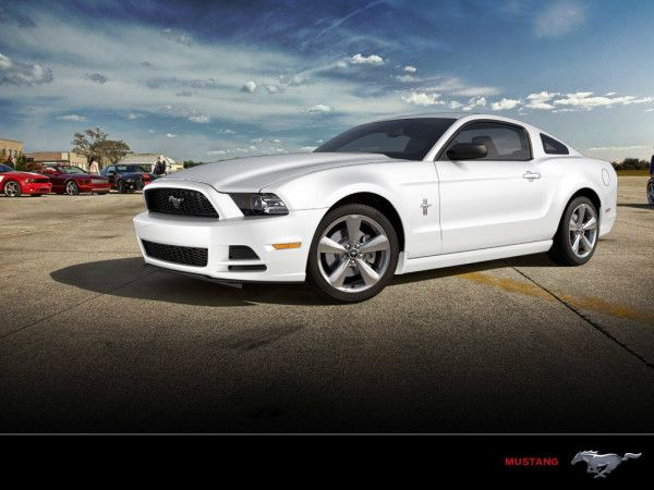 2014 Ford Mustang Coupe Side Photos 600x450 2014 Ford Mustang Full Review With Images