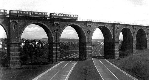 Bahrebachmühlenviadukt bei Chemnitz-Borna