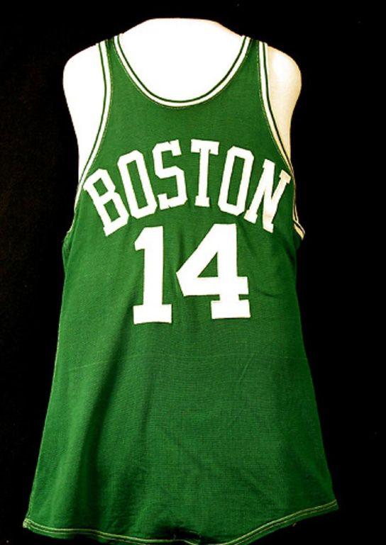 ef5e11ef1 Get 15%off with our Bob Cousy - 14 - Boston Celtics zagmbbs photo on  Instagram · Bob CousyBasketballBobs Boston Celtics Jersey worn by Bob Cousy  ...