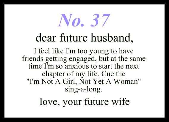 Love Notes To My Future Husband   3 Words, 8 Letters, 1 ... Dear Future Boyfriend Letters