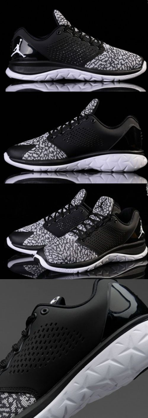 Athletic 15709: Men S Jordan Trainer St Athletic Training Sneakers Shoes Black White Size 10.5 -> BUY IT NOW ONLY: $54.99 on eBay!