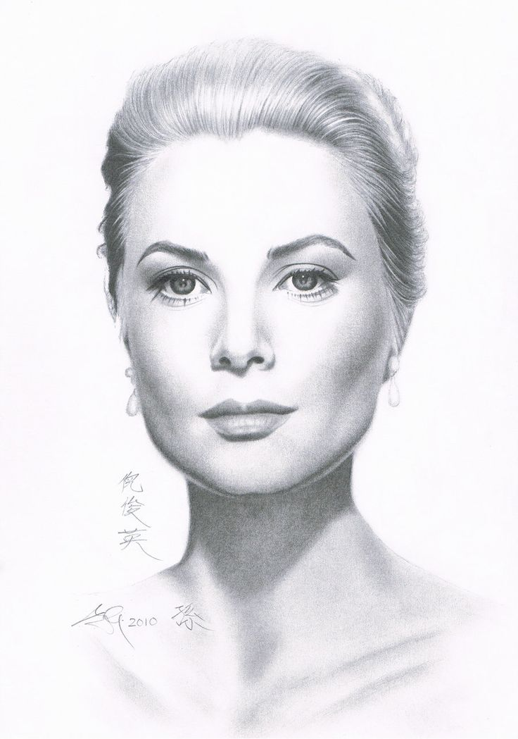 Celebrity Pencil Drawings Portrait Drawing Of Celebrities ...