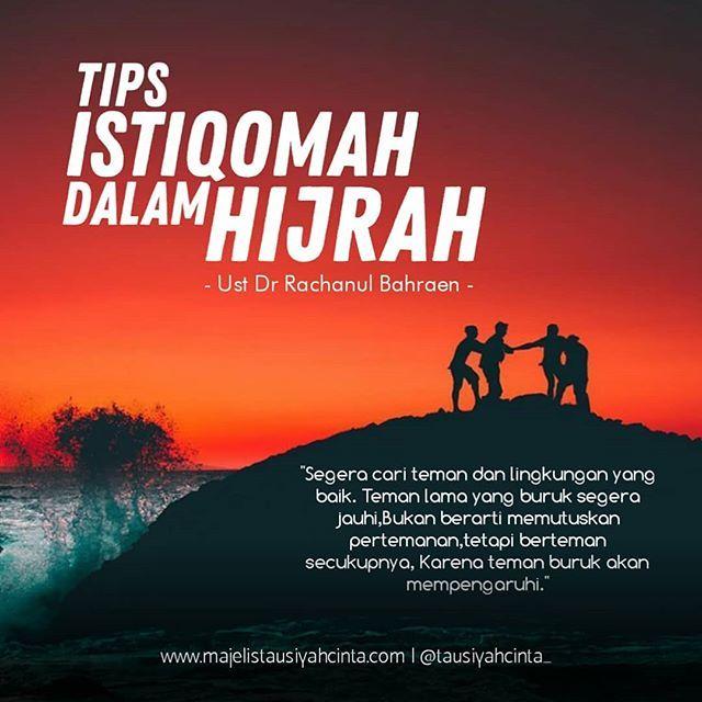 Tips Istiqomah Dalam Hijrah Follow Cintazakat Follow