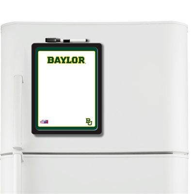 #Baylor Bears dry erase board -- every dorm room needs one of these on
