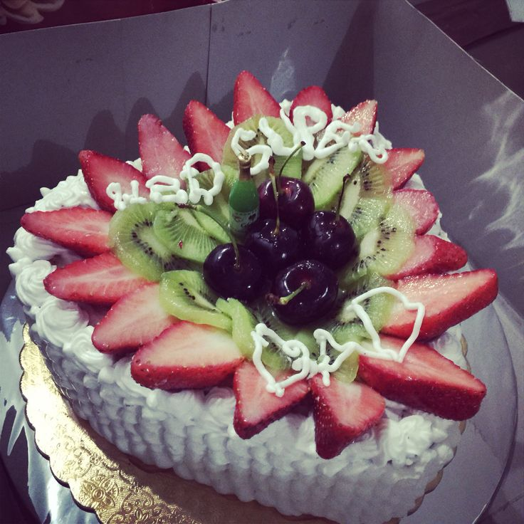 Lapis Surabaya Cake decoration fruit