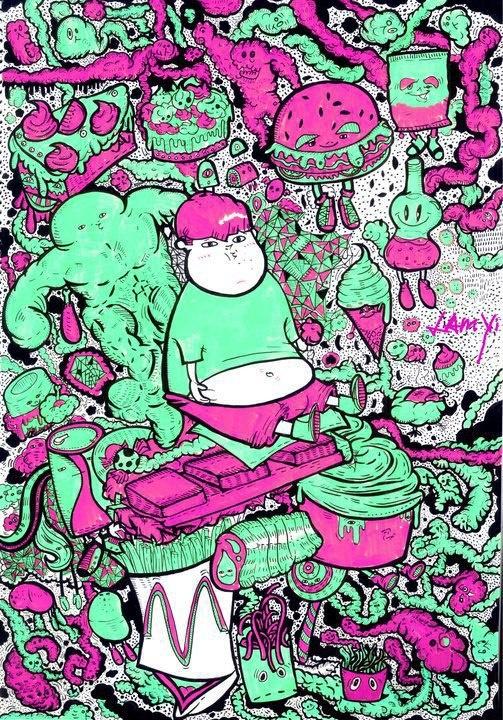 by : Zoie Lam    www.facebook.com/IloveARTARTART (illustion)