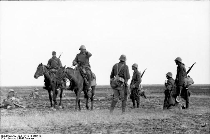 Romanian troops in Russia 1942