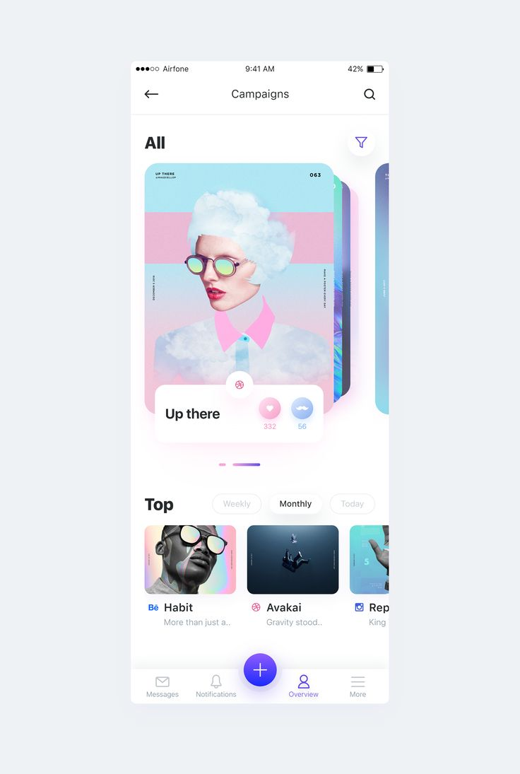 Dribbble 3campaign full
