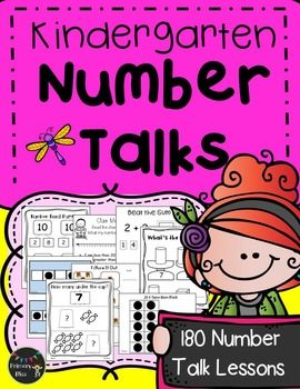 This year-long (180 lessons), common core aligned Number Talks program is specifically designed for kindergarten and guaranteed to get your students highly engaged in mathematical discussions. We have thoughtfully created a variety of activities to get your students talking about math.