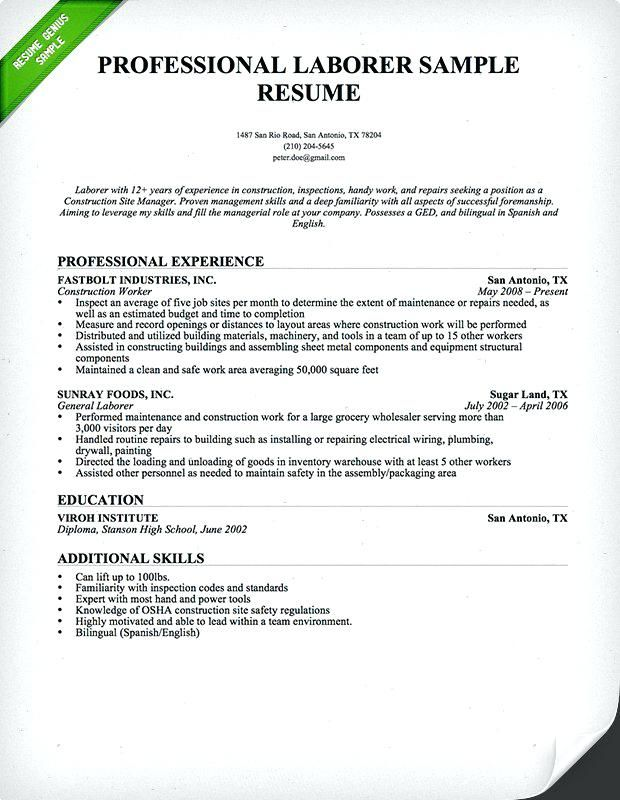 Sample Of Resume Letter 2019 sample of resume letter ...
