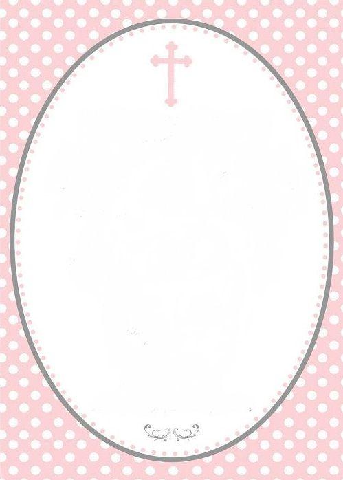 cruz y lunares rosa