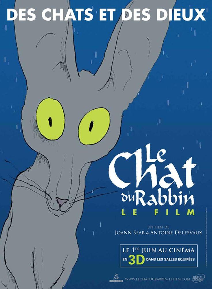 Une affiche teaser pour Le Chat du Rabbin de Joann Sfar (10 Mars 2011)