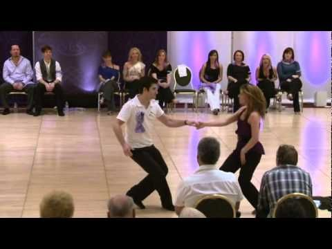 Second dance is amazing musicality...Ben Morris and Melissa Rutz - 1st Place improv West Coast Swing dance in the invitational Jack and Jill at Seattle Easter Swing 2011.