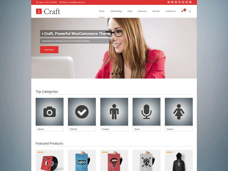 37 best Free WooCommerce Themes images on Pinterest | Tema de ...