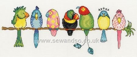 Buy Exotic Birds online at sewandso.co.uk