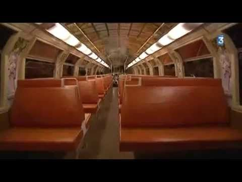 VIDEO: The french have decorated some of their trains to look like the Palace of Versailles - and the result is amazing, I SO want to ride these trains! (commentary in french so just admire the view :-) Story & lots more pics at http://urbanlifesigns.blogspot.it/2012/05/trains-decorated-like-chateau.html