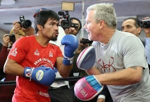 Manny 'only for boxing not MMA'