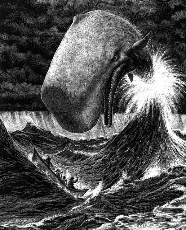 Ricardo Martinez: Ricardo Martinez, Mobydick, Inspiration, Illustrations, Ricardomartinez, Moby Dick, Photo, Animal, Whales