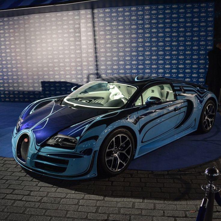 Bugatti Sport: Bugatti Veyron Super Sport Painted In The Le Saphir Bleu