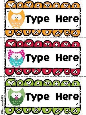 Editable+Owl+Themed+Desk+Name+Tags+from+Nastaran+on+TeachersNotebook.com+-++(3+pages)++-+Editable+Owl+Themed+Desk+Name+Tags+contains+9+blank+editable+owl+themed+desk+name+tags.