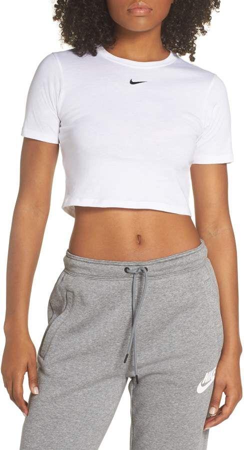 4fb92471 Nike Sportswear Slim Fit Crop Top | ~Fitness~ | Crop tops, Tops ...