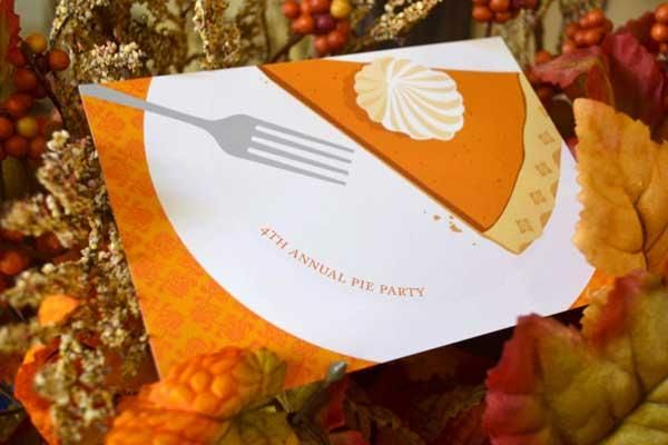 a PRE- THANKSGIVING PIE Exchange PARTY!!!  a cute idea! #holidayentertaining
