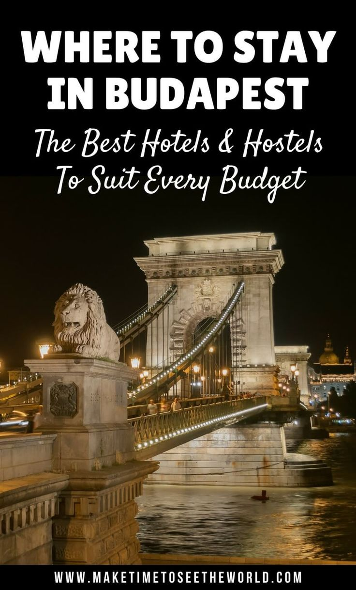 Where to Stay in Budapest: The Best Hotels and Hostels to suit every budget. Let us help you find the perfect place to stay for your city break in Budapest