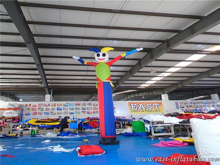 Bailarín inflable del aire de circo