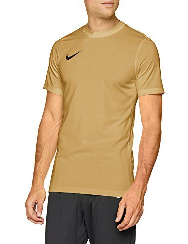 the best attitude e0694 bf0c0 Nike Park VI Camiseta de Manga Corta para hombre, Dorado (Jersey  Dorado Black