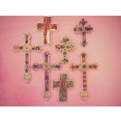 フラワークロス 十字架 cross