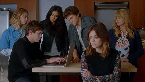 """S7 Ep20 """"'Til Death Do Us Part"""" - The crew is on it. #PLLFinale #PLLGameOver"""