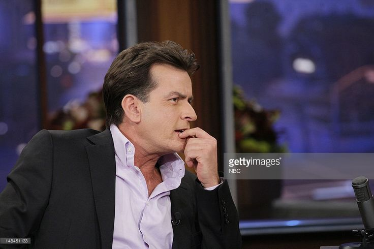 News Photo : Actor Charlie Sheen during an interview on July...