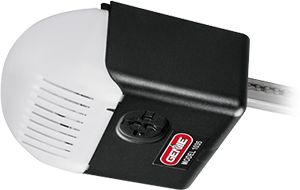 The Model 1035 chain drive 500 garage door opener, is equipped with a heavy duty chain drive for doors up to 7ft tall and a 24v DC motor.