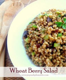 wheat berry and bean salad recipes dishmaps back on track wheat berry ...